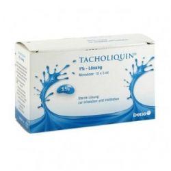 TACHOLIQUIN 1% tirpalas inhaliacijoms, 10 vnt.