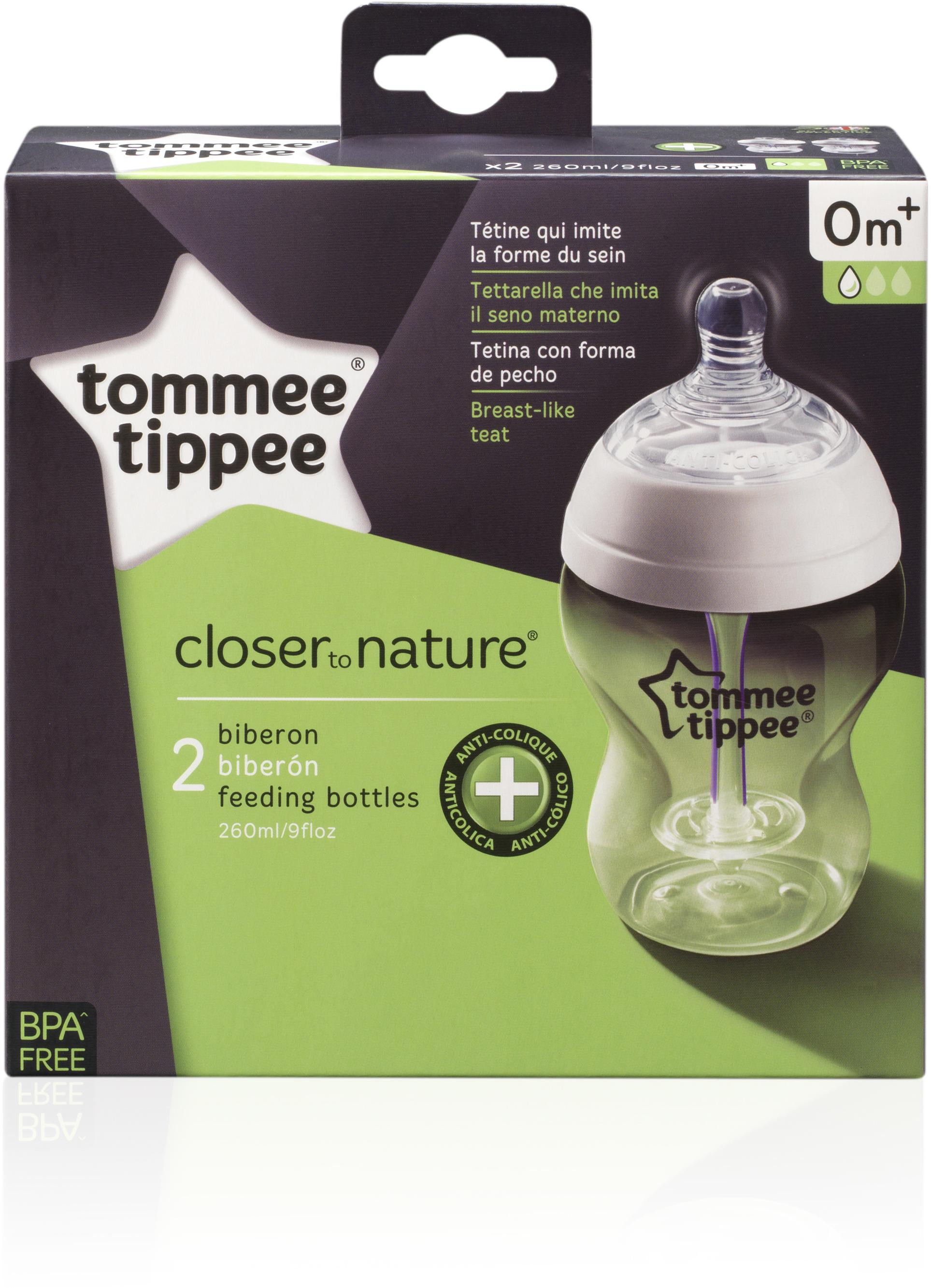 Tommee Tippee buteliukas Anti-Colic 260 ml