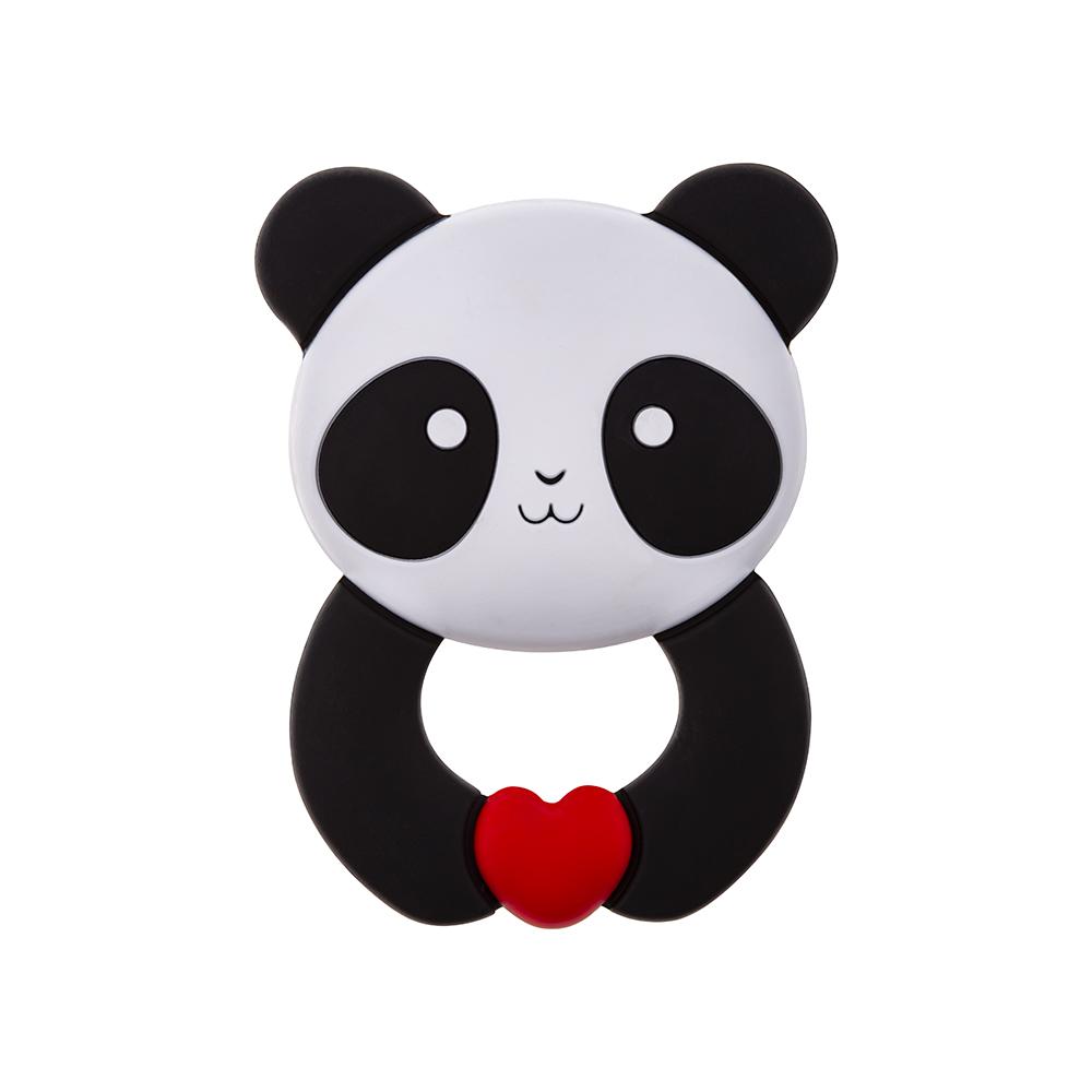Akuku silikoninis kramtukas PANDA, A0055