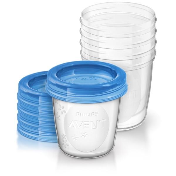 Avent indelis motinos pienui ir kūdikių maistui laikyti, 180 ml