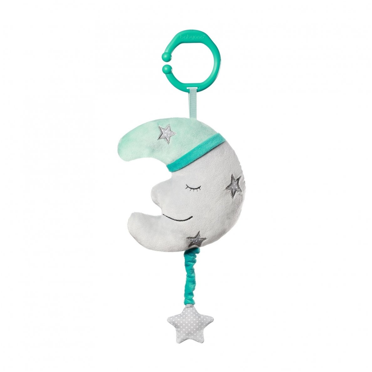 BabyOno pakabinamas žaislas su melodija MĖNULIS