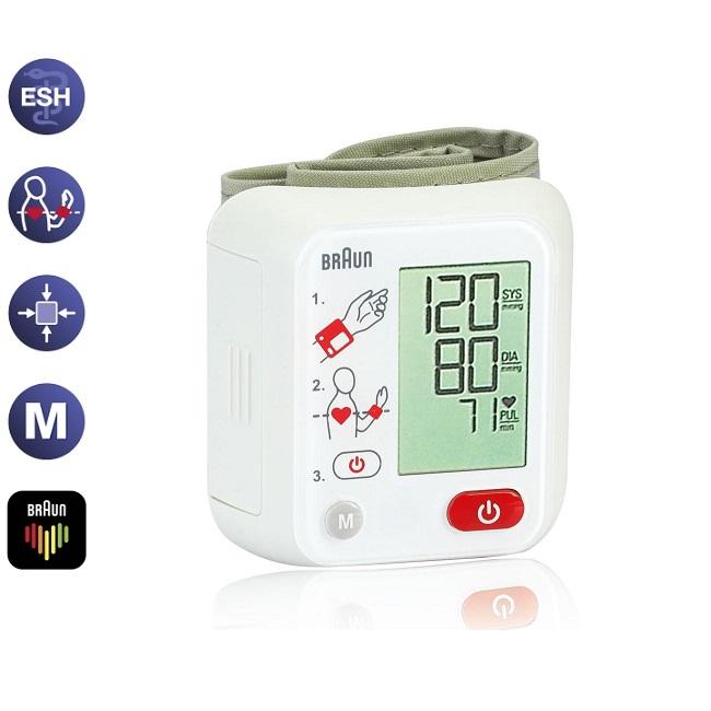 Braun riešinis kraujospūdžio matuoklis VitalScan™ 1 – BBP2000 (VOKIETIJA)