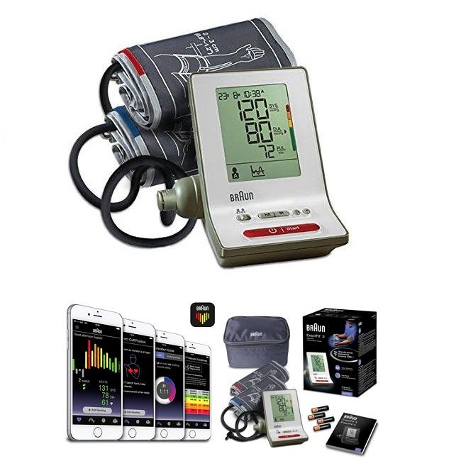 Braun žąstinis kraujospūdžio matuoklis Braun ExactFit™ 3 – BP6000 (VOKIETIJA)