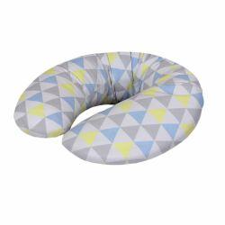 Cebababy maitinimo pagalvė MINI (180x33), trikampiai