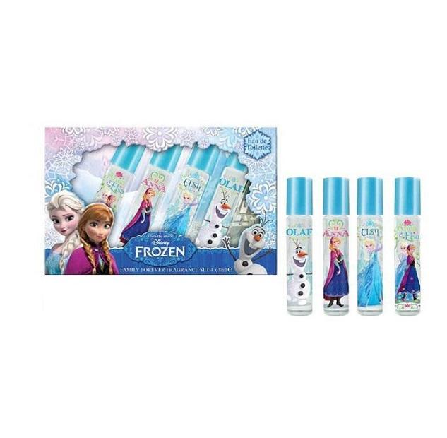 Disney Frozen kvepalų rinkinys 4x8 ml