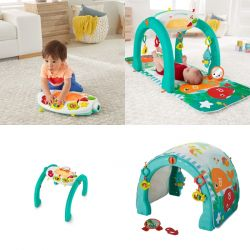 Fisher Price lavinamasis kilimėlis 4 in 1 Ocean Centre