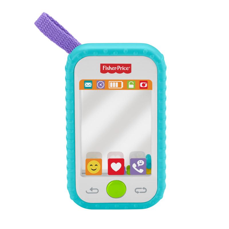 Fisher Price lavinamasis žaislas Selfie Phone Teether