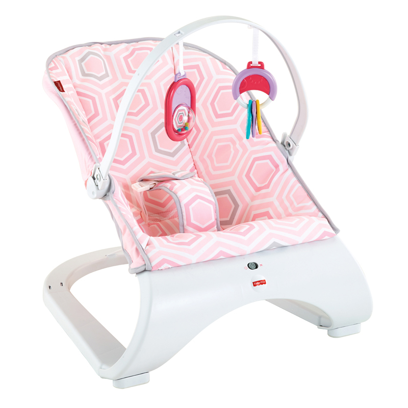 Fisher Price  gultukas Pink Saturn Snuggle Comfort Curve