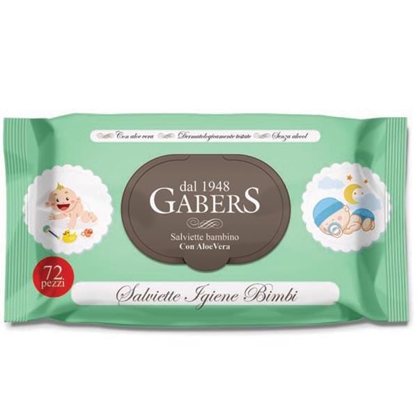 Gabers drėgnos servetėlės 72 vnt. (Italija)