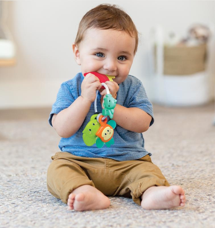 Infantino kramtukas Safari Teething Pals