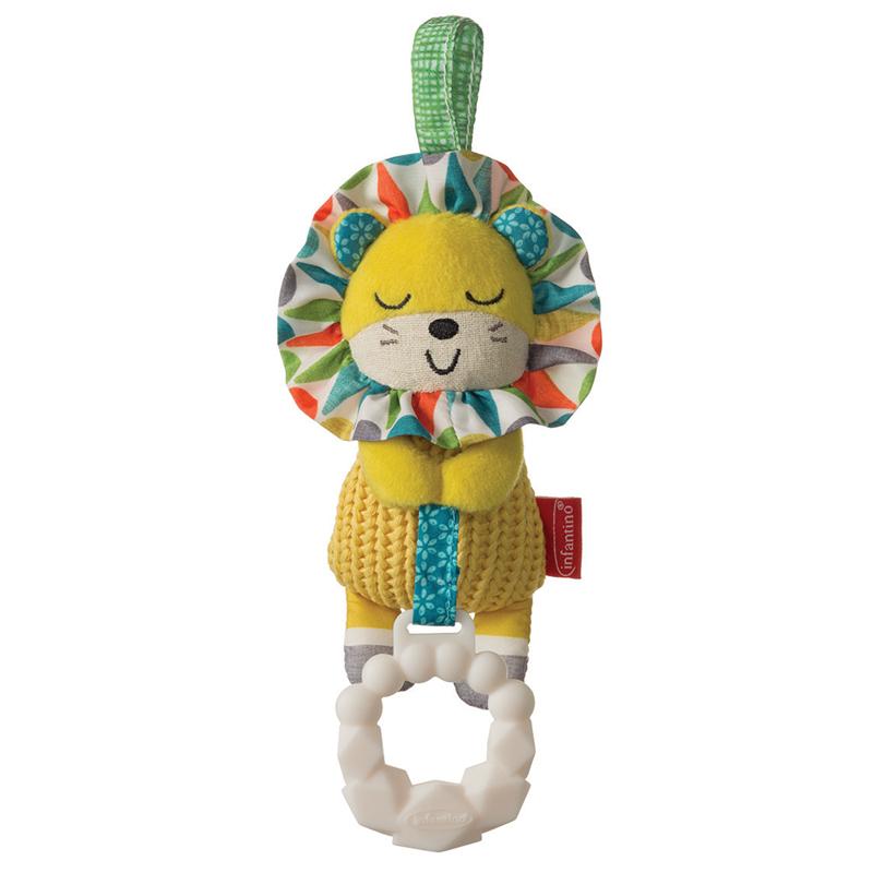 Infantino pakabinamas žaislas su kramtuku  LIŪTAS