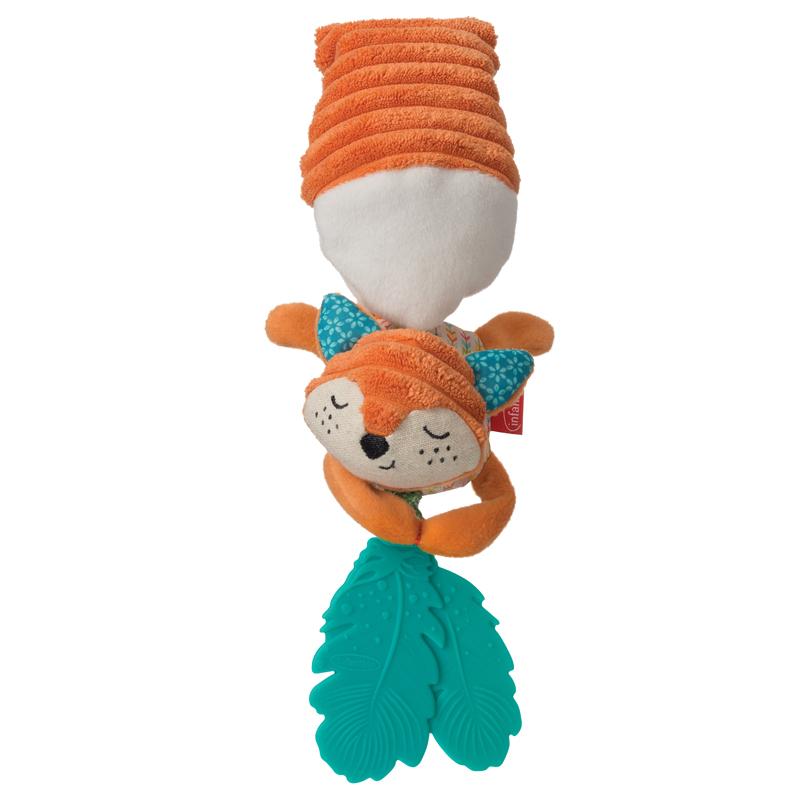 Infantino pakabinamas žaislais su kramtuais LAPĖ Go Gaga Jittery