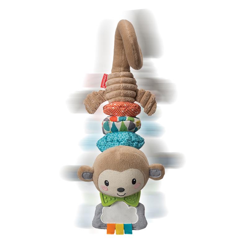 Infantino pakabinamas vibruojantis muzikinis žaislas BEŽDŽIONĖ