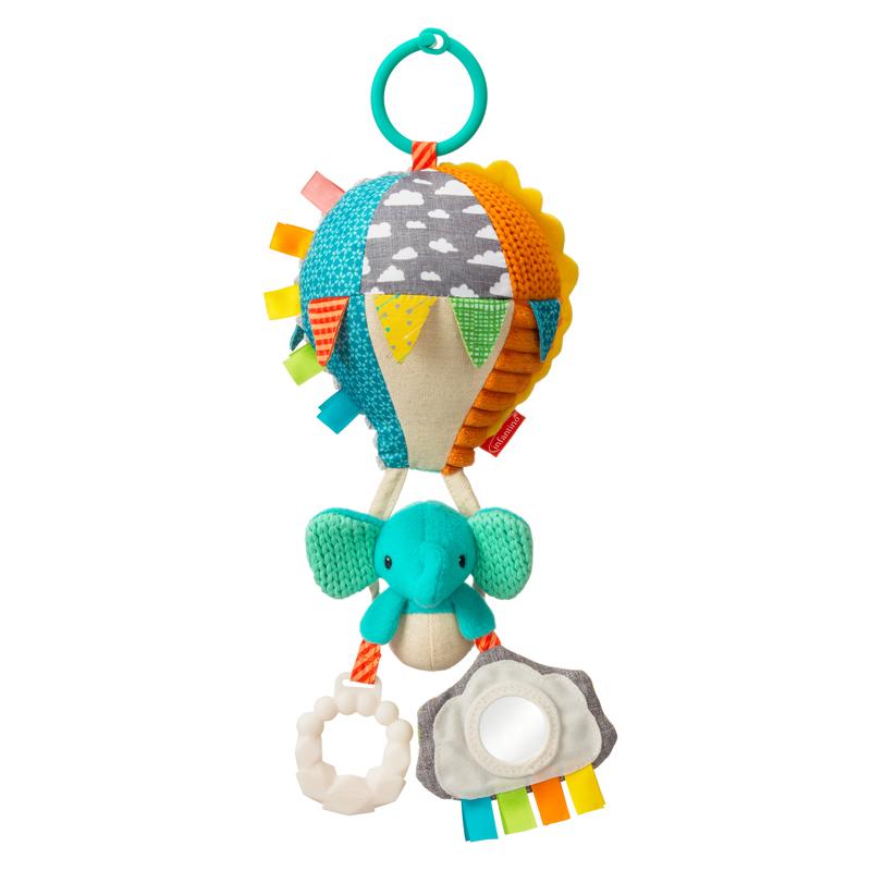 Infantino pakabinamas žaislas su kramtukais ORO BALIONAS Go Gaga Playtime Pal