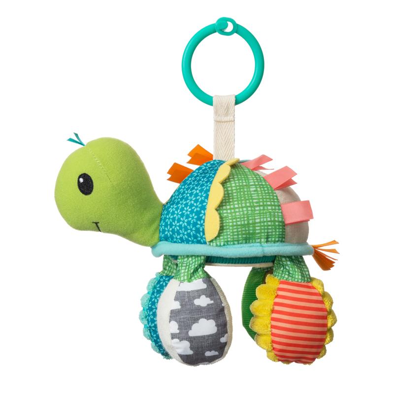 Infantino pakabinamas žaislas VĖŽLYS Go Gaga Mirror Pal - Turtle