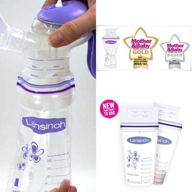 Lansinoh pieno šaldymo maišelis (1vnt.)