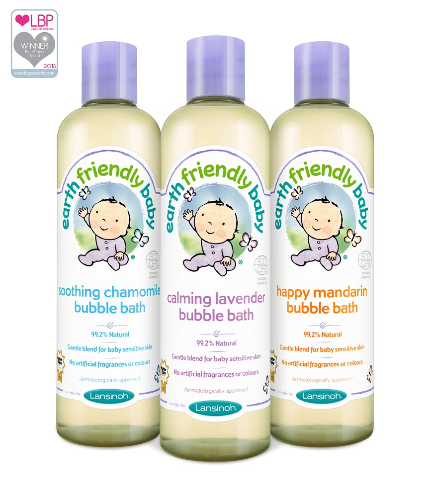 "Lansinoh vonios putos kūdikiams  ""Earth friendly baby"", 300 ml"