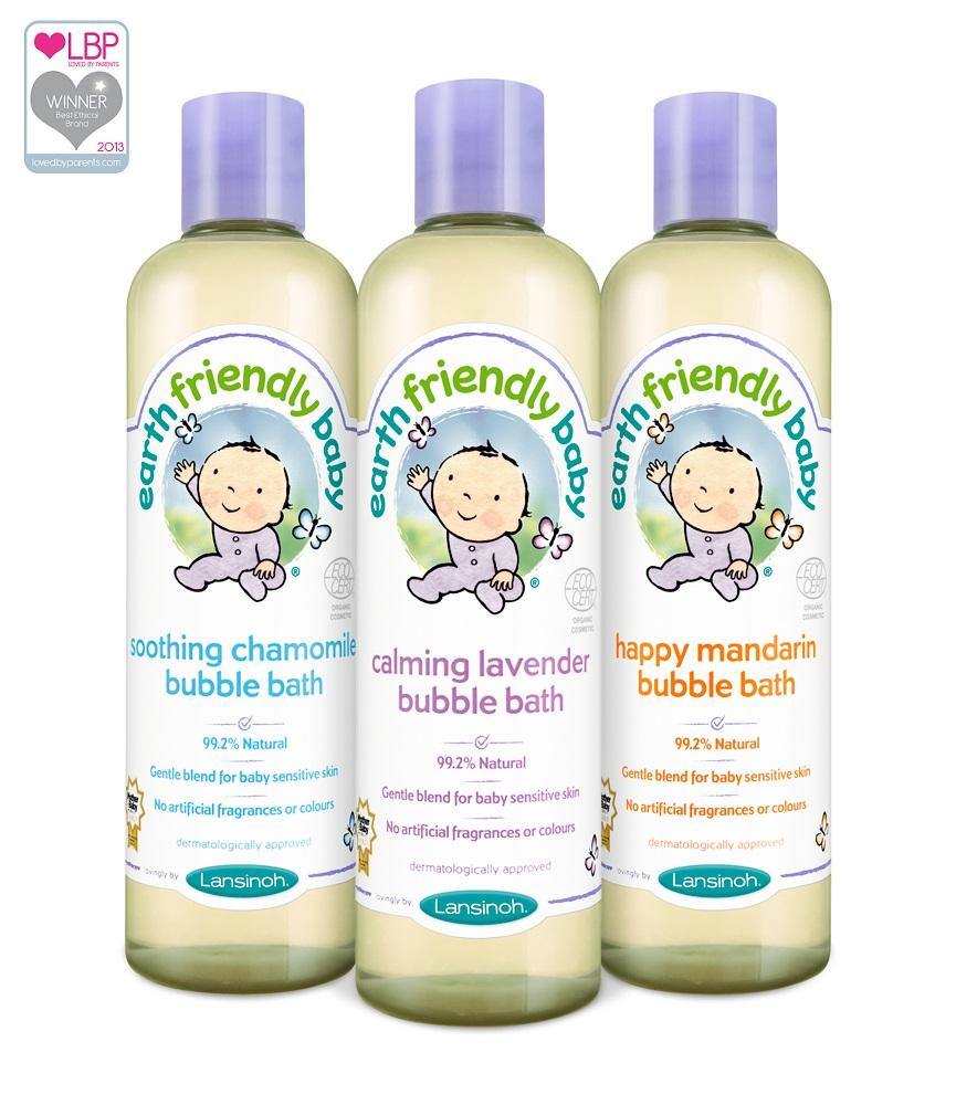 """Lansinoh vonios putos kūdikiams  """"Earth friendly baby"""", 300 ml"""