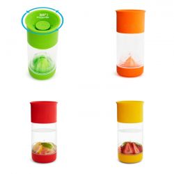 Munchkin puodelis Miracle 360 Fruit Infuser nuo 18 mėn. , 414 ml