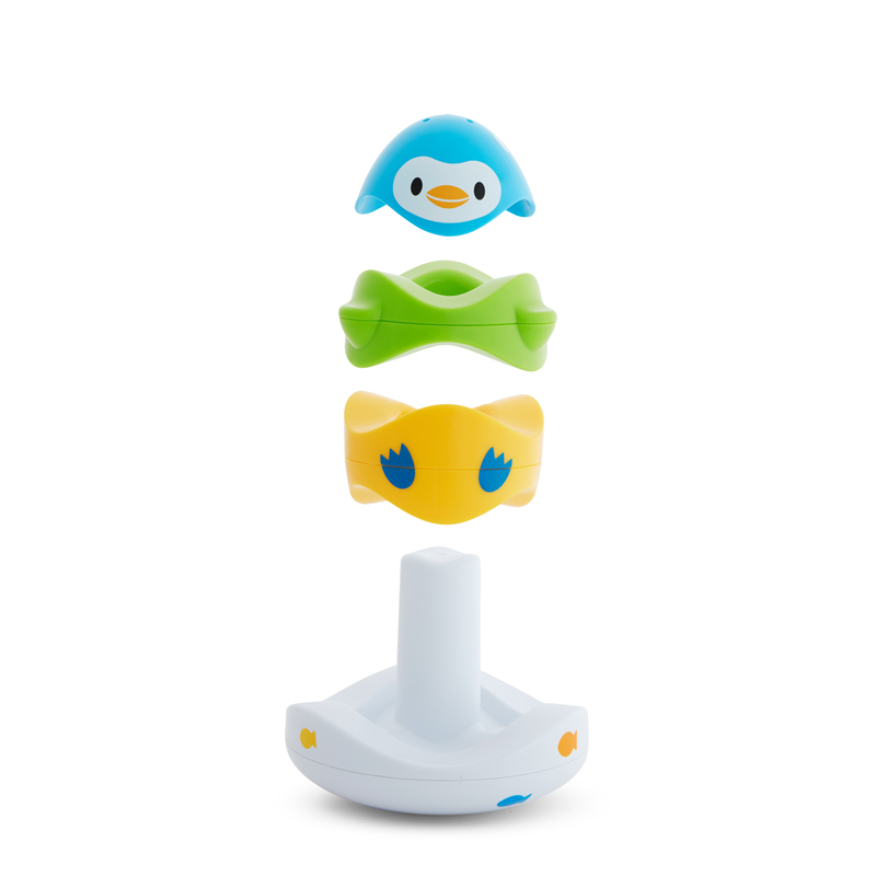 Munchkin vonios žaislas Stack n Match Floating Bath Toy