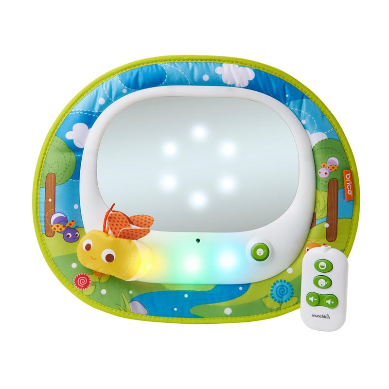 Munchkin galinio vaizdo veidrodis Brica Baby In-sight Magical Auto FireFly