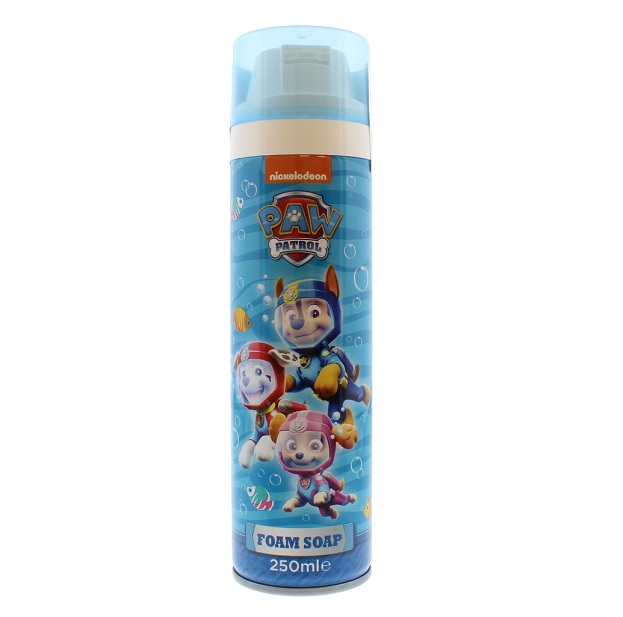 Nickelodeon Paw Patrol  dušo želė-putos Mouldable Foam Soap 250ml