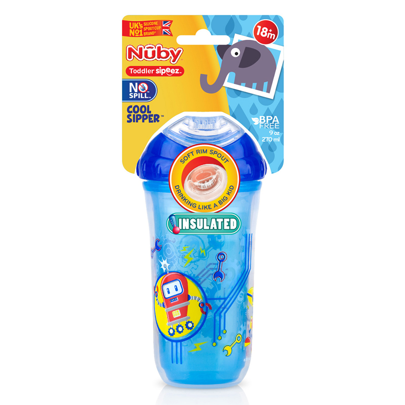 Nuby gertuvė nuo 18 mėn. Insulated Cool Sipper