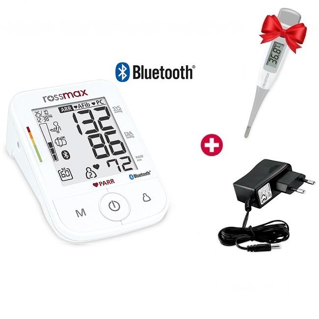 Rossmax kraujospūdžio matuoklis žąstinis X5 BT (Šveicarija)
