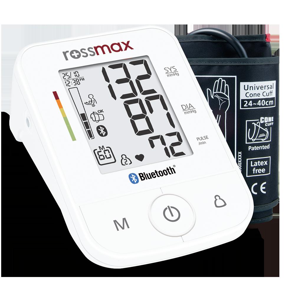 Rossmax kraujospūdžio matuoklis žąstinis X3 BT (Šveicarija)