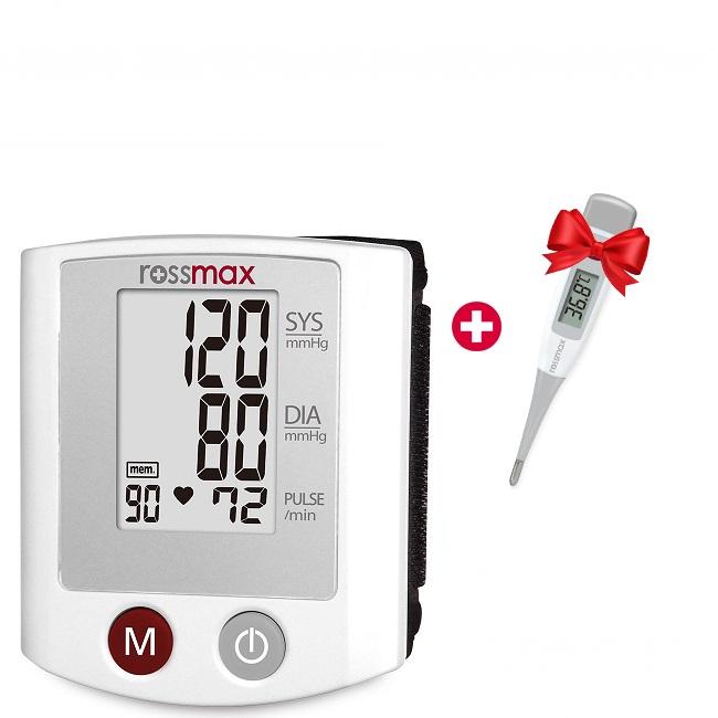Rossmax riešinis kraujospūdžio matuoklis S150 (Šveicarija)