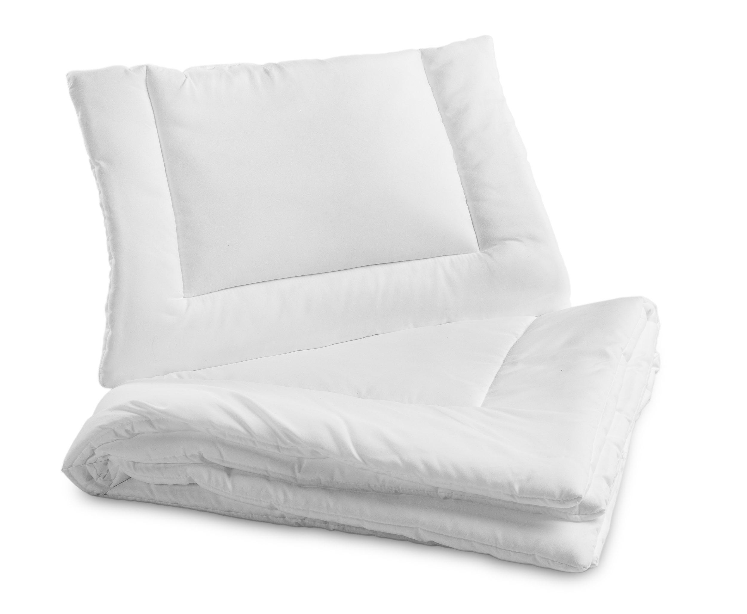 Sensillo patalynė kūdikiams (antklodė 135x100 ir pagalvė 40x60)