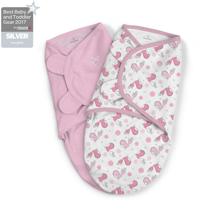 Summer Infant vystyklas-kokonas SwaddleMe Original, Tweet Tweet 0-3 mėn.