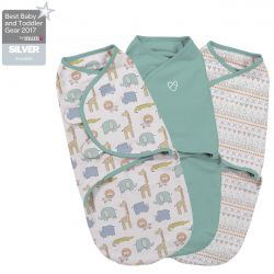 Summer Infant vystyklas-kokonas SwaddleMe Original Sketchy Safari