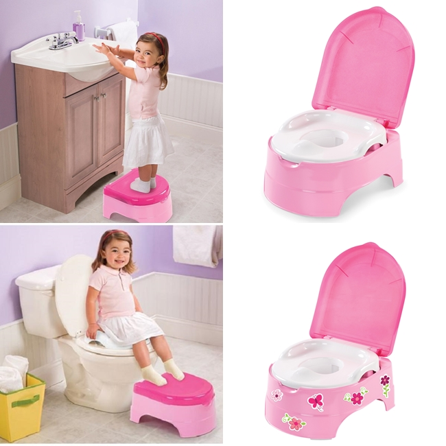 Summer Infant naktipuodis  My Fun Potty ROŽINIS