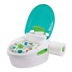 Summer Infant naktipuodis Step By Step Potty ŽALIAS