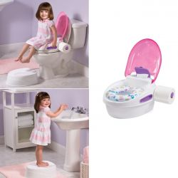 Summer Infant naktipuodis Step By Step Potty ROŽINIS