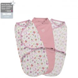 Summer Infant vystyklas-kokonas SwaddleMe Original Secret Garden 0-3 mėn.