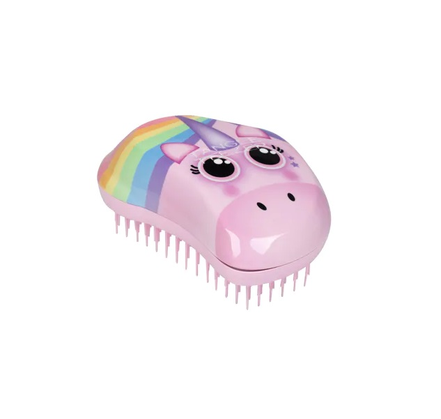 Tangle Teezer plaukų šepetys The Original Mini Rainbow Unicorn
