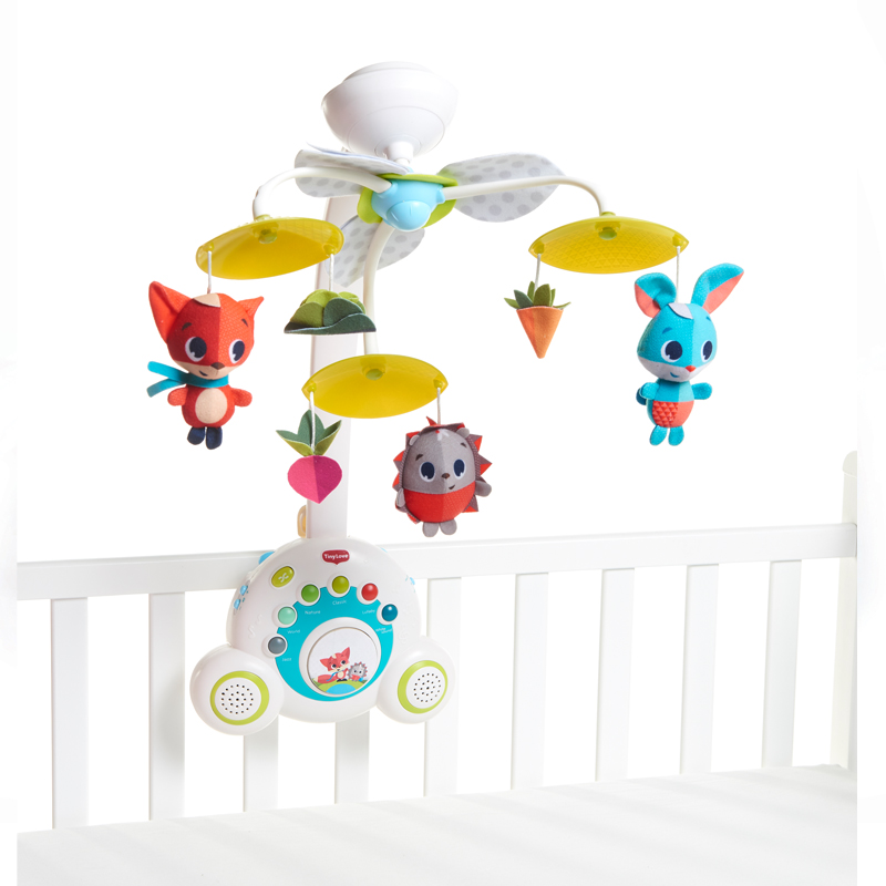 Tiny Love karuselė Soothe and Groove Meadow Days Mobile 3in1