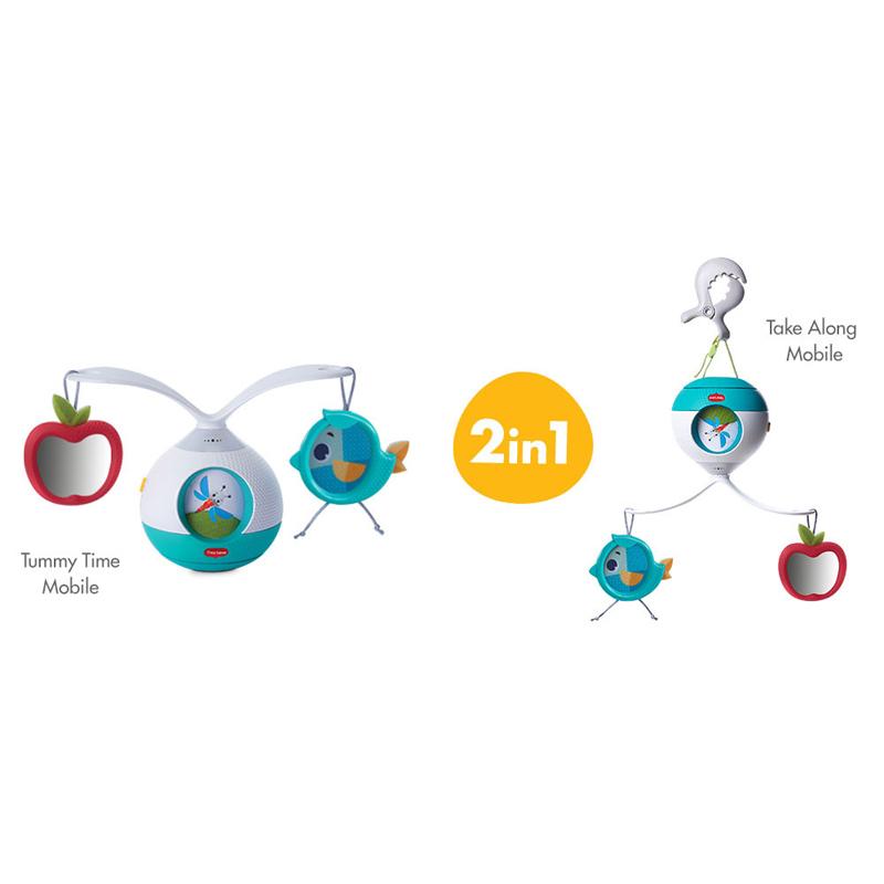 Tiny Love karuselė-žaislas Tummy Time Meadow Days Mobile