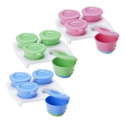 Tommee Tippee indelis 70 ml Pop Up Freezer Pots & Tray