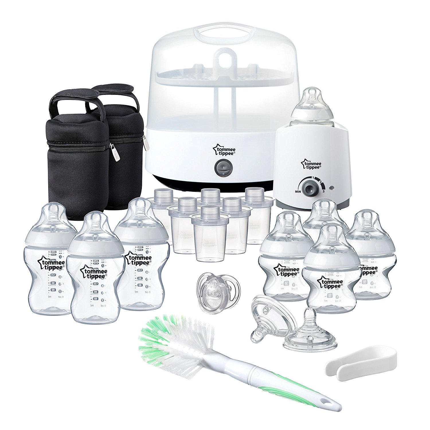 Tommee Tippee rinkinys Closer to Nature Complete Feeding Set BALTAS