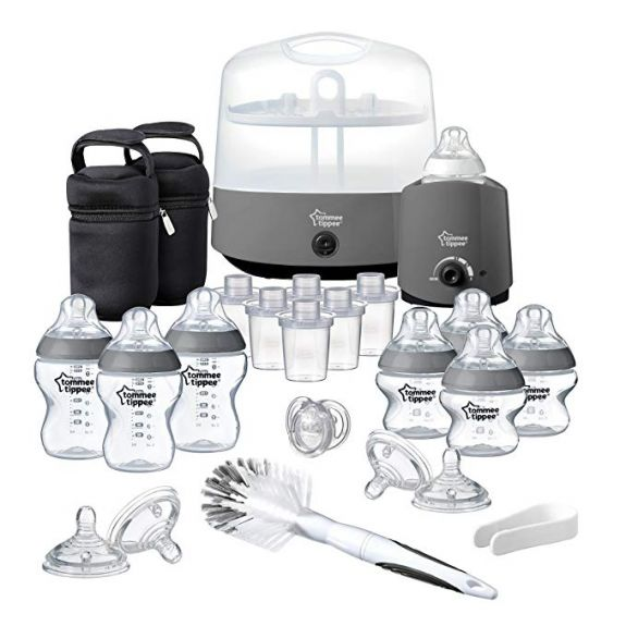 Tommee Tippee rinkinys Closer to Nature Complete Feeding Set PILKAS