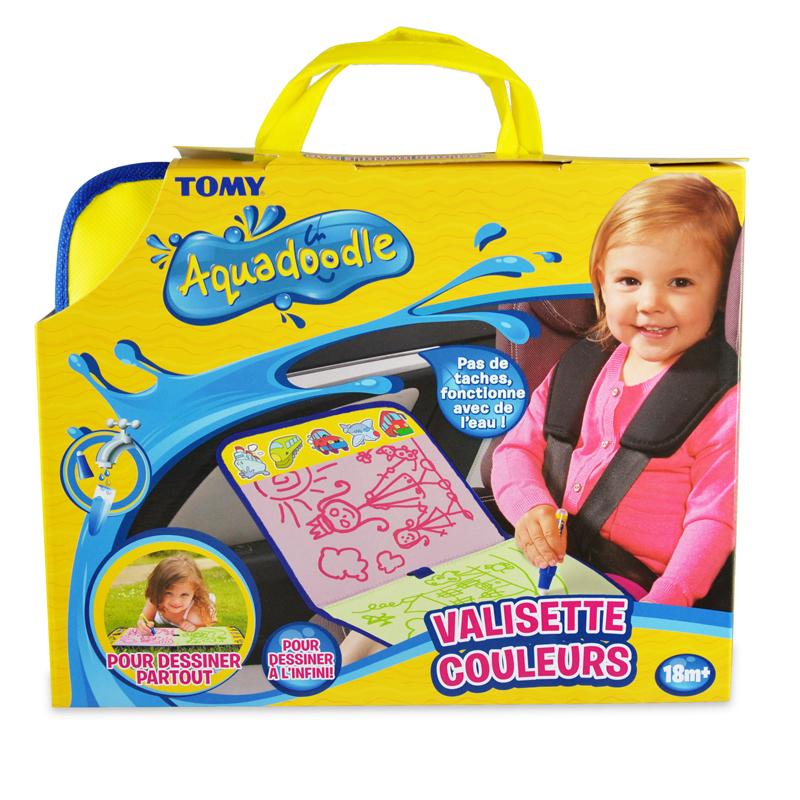 Tomy Aquadoodle piešimo vandeniu kilimėlis-lagaminėlis nuo 18 mėn.  Colour Doodle Bag