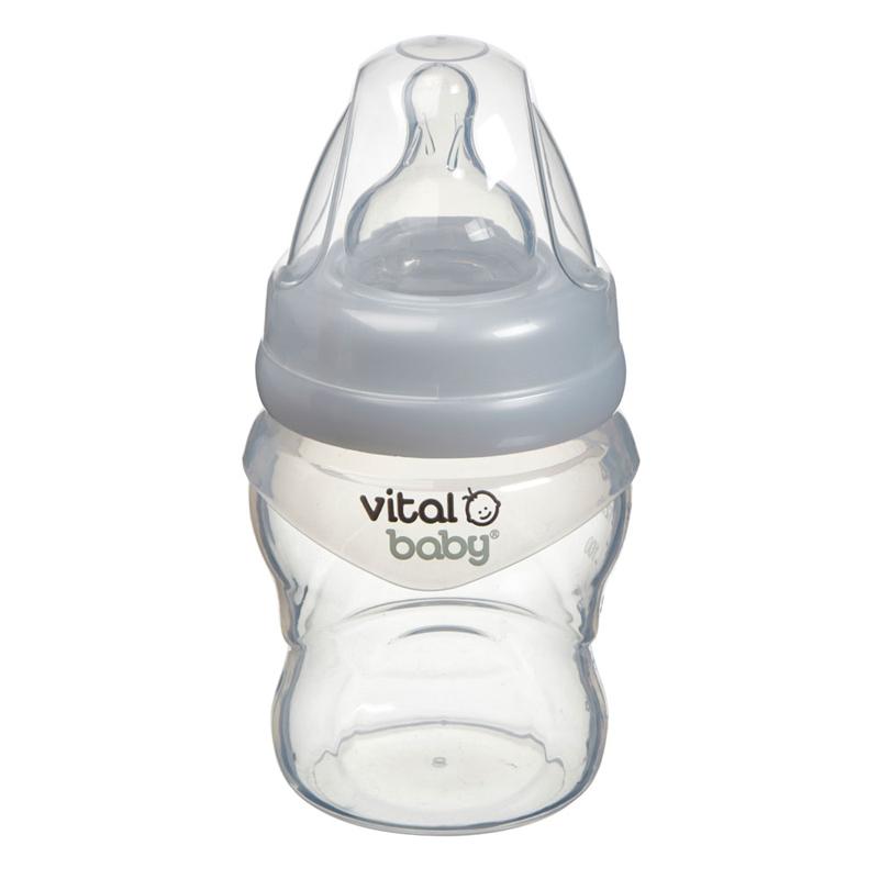 Vital Baby buteliukas 150 ml NURTURE Silicone Feed Assist Feeding