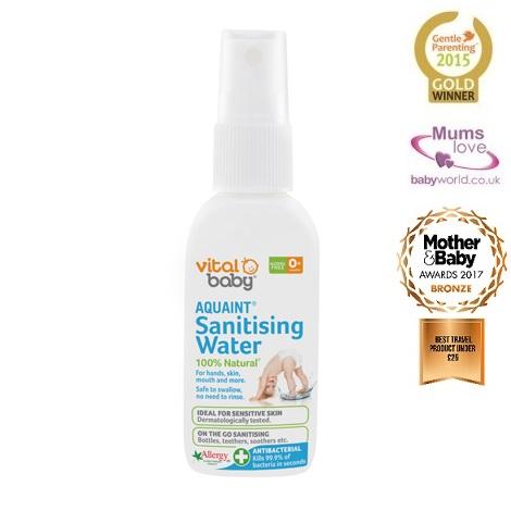 Vital Baby sterilizuojantis antibakterinis  purškiklis 50 ml