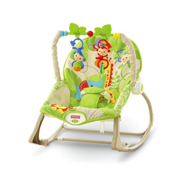 Fisher Price Rainforest Infant to Toddler Rocker gultukas